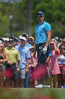 Henrik Stenson (SWE) watches his tee shot on 3 during round 1 of The Players Championship, TPC Sawgrass, at Ponte Vedra, Florida, USA. 5/10/2018.<br /> Picture: Golffile | Ken Murray<br /> <br /> <br /> All photo usage must carry mandatory copyright credit (&copy; Golffile | Ken Murray)