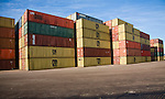 Containers, Port of Felixstowe, Suffolk, England