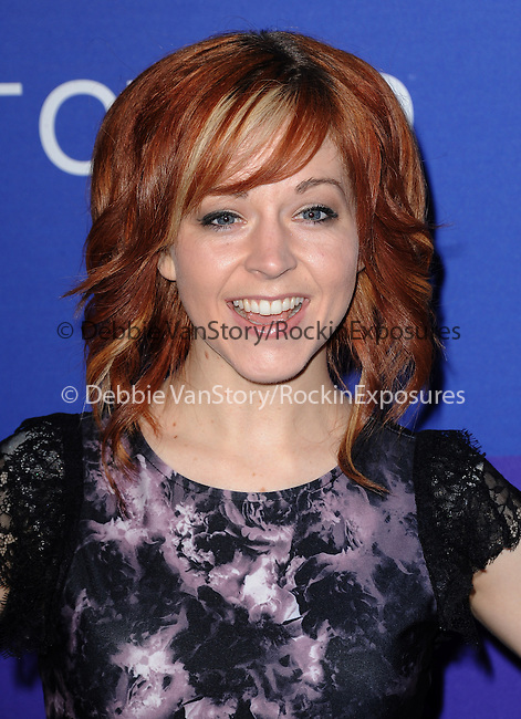 """Lindsey Stirling attends unite4:good and Variety presentation """"unite4:humanity"""" Celebrating Good, Giving and Greatness Around the Globe held at Sony Picture Studios in Culver City, California on February 27,2014                                                                               © 2014 Hollywood Press Agency"""