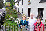 TV APPEARANCE: Management of the Glenbeigh Hotel which will feature in the new RTE series of At Your Service, l-r: Mary, Killian and Marie Keary.