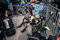 spent...<br /> <br /> UCI WOMEN&lsquo;S TEAM TIME TRIAL<br /> Ötztal to Innsbruck: 54.5 km<br /> <br /> UCI 2018 Road World Championships<br /> Innsbruck - Tirol / Austria