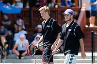 Century boys doubles team of Hatch and Klutsch during the State 4A Boys Doubles championships.