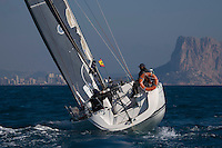 Esp 6832  .Manuela II  .Francisco Sarmiento  .J.Miguel Pareja  .CN Santa Pola  .Dufour 40 .XXII Trofeo 200 millas a dos - Club Náutico de Altea - Alicante - Spain - 22/2/2008