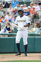 Trenton Thunder infielder Jose Toussen (29) during game against the Binghamton Mets at ARM & HAMMER Park on July 27, 2014 in Trenton, NJ.  Trenton defeated Binghamton 7-3.  (Tomasso DeRosa/Four Seam Images)