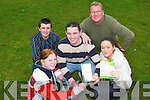 SAY NO: Trainees from Tralee Community Training Centre took part in a Drugs Awareness Programme to help them to understand the serious implications of drug and alcohol abuse. From front L-r were: Stacey Golden and Breda Coffey. Back l-r were: Pat Hannafin (Drug Project Worker Partnership Tra Li), Michael McCarthy and Mark Charlton (Manager of Tralee Community Training Centre).