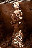 Baroque Balcony support Sculptures, Noto, Sicily. UNESCO World Heritage Site
