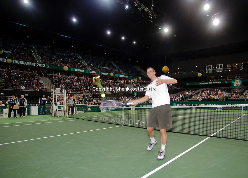 17-02-12, Netherlands,Tennis, Rotterdam, ABNAMRO WTT,