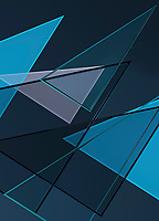 Transparent triangles in abstract backgrounds pattern