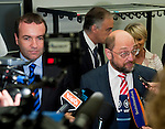 140624: MEP Manfred WEBER and MEP Martin SCHULZ, Group Chairmen of EPP and S&D