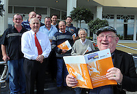 Deputy Jackie Healy-Rae pictured after passing his Driver CPC course recently with fellow lorry drivers at the Gleneagle Hotel.  Now that he has announced his retirement, Deputy Healy-Rae plans to go lorry driving again after the next election.<br /> Picture by Don MacMonagle