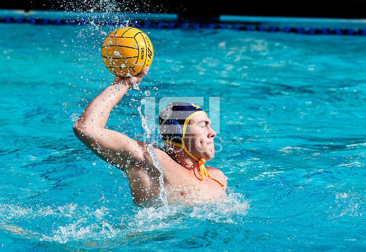 BERKELEY, CA., NOVEMBER 12, 2016—California men's water polo vs the Stanford Cardinal at Spieker aquatics Complex . Cal won 11-10.