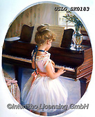 CHILDREN, KINDER, NIÑOS, paintings+++++,USLGSK0183,#K#, EVERYDAY ,Sandra Kock, victorian