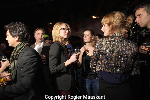 29-01-2012 Filmfestival Rotterdam, IFFR12.Industry Opening Party at Westelijk Handelsterrein.Cinemart. Foto: Rogier Maaskant. Copyright and ownership by photographer. FOR IFFR USE ONLY. Not to be (re-)distributed in any form. Copyright and ownership by photographer. FOR IFFR USE ONLY. Not to be (re-)distributed in any form.