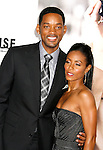 "WESTWOOD, CA. - September 04: Actor Will Smith and Actress Jada Pinkett Smith arrive at the Los Angeles Premiere of ""The Women"" at the Mann Village Theater on September 4, 2008 in Westwood, California."