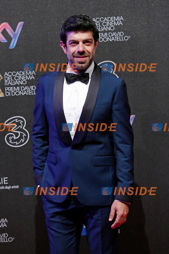 Pierfrancesco Favino<br /> Roma 27-03-2017. Premio David di Donatello 2017.<br /> Rome March 27th 2017. David di Donatello ceremony 2017. <br /> Foto Samantha Zucchi Insidefoto