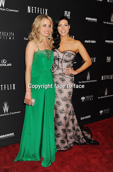 BEVERLY HILLS, CA- JANUARY 12: Actresses Taylor Schilling; Laura Prepon attend The Weinstein Company &amp; Netflix 2014 Golden Globes After Party held at The Beverly Hilton Hotel on January 12, 2014 in Beverly Hills, California.<br /> Credit: Mayer/face to face<br /> - No Rights for USA, Canada and France -