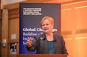 former President of Finland, Tarja Halonen with Hastings Donnan at the 2017 Mitchell Institute's Harri Holkeri Lecture at Queen's University Belfast. -  Photo/Paul McErlane