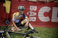 Daan Soete (BEL/Telenet-Fidea) had to dig deep (in the heat of Vegas) but managed a fine 6th (and 2nd U23 after teammate Quinten Hermans)<br /> <br /> Cross Vegas 2014