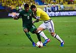 Previa y partido en el que Colombia venció como local 1-0 a Bolivia. Fecha 13 Eliminatorias Rusia 2018.