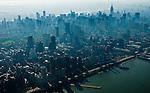 Aerial and Ground views of New York City Tourist Destinations