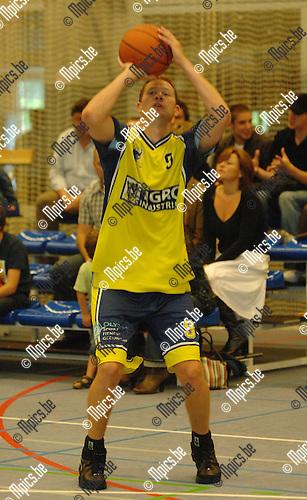 2007-09-02 / Basketbal / Geel /  Marc Michiels