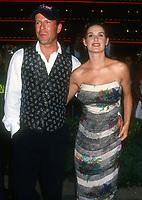 Bruce Willis, Demi Moore, 1994, Photo By Michael Ferguson/PHOTOlink