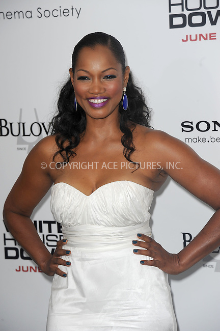 WWW.ACEPIXS.COM<br /> June 25, 2013...New York City <br /> <br /> Garcelle Beauvais attending 'White House Down' New York Premiere at Ziegfeld Theater on June 25, 2013 in New York City.<br /> <br /> Please byline: Kristin Callahan... ACE<br /> Ace Pictures, Inc: ..tel: (212) 243 8787 or (646) 769 0430..e-mail: info@acepixs.com..web: http://www.acepixs.com
