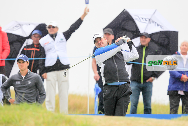 Marc Warren (SCO) during Round 2 of the HNA Open De France  at The Golf National on Friday 30th June 2017.<br /> Photo: Golffile / Thos Caffrey.<br /> <br /> All photo usage must carry mandatory copyright credit     (&copy; Golffile | Thos Caffrey)