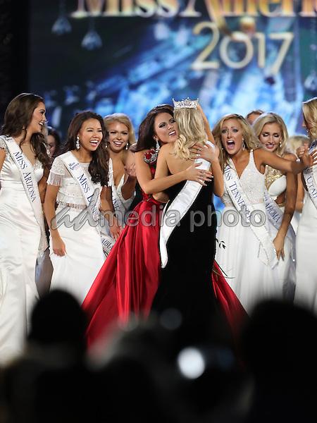 11 September 2016 - Atlantic City, New Jersey - 2017 Miss America Savvy Shields.  Miss Arkansas Savvy Shields is named 2017 Miss America at Boardwalk Hall.  Photo Credit: MJT/AdMedia