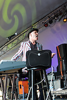 Thomas Dolby performing at Voodoo Fest 2012 in New Orleans, LA.