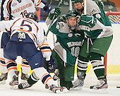 Travis Stevens (Plymouth State - 18), Tim Visich (Plymouth State - 8) - The visiting Plymouth State University Panthers defeated the Salem State University Vikings 3-2 on Thursday, December 1, 2011, at Rockett Arena in Salem, Massachusetts.