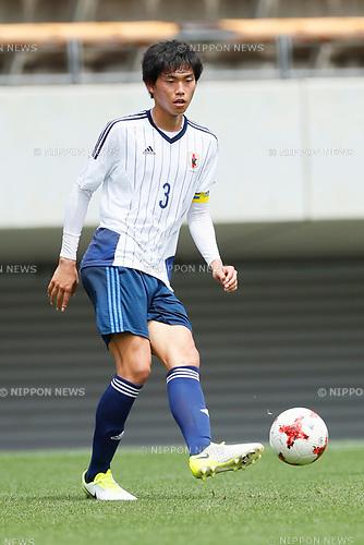 Koki Machida (JPN), <br /> APRIL 18, 2017 - Football / Soccer : <br /> U-20 Japan National team training match <br /> between U-20 - JEF United Chiba <br /> in Chiba, Japan. <br /> (Photo by Yohei Osada/AFLO SPORT)