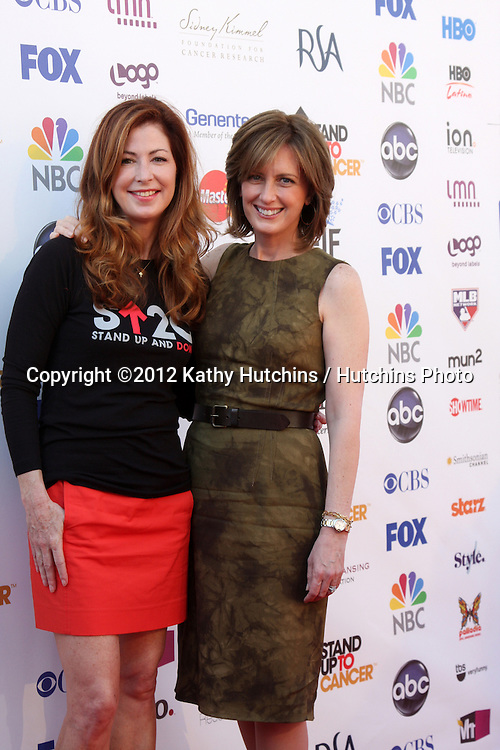 LOS ANGELES - SEP 7:  Dana Delany, Anne Sweeney arrives at the 2012 Stand Up To Cancer Benefit at Shrine on September 7, 2012 in Los Angeles, CA