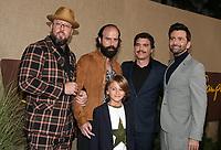 HOLLYWOOD, CA - OCTOBER 10: Chris Sullivan, Arturo Del Puerto, Brett Gelman, Duncan Joiner, David Tennant, at The Los Angeles Premiere of HBO's Camping at Paramount Studios in Hollywood, California on October 10, 2018. Credit: Faye Sadou/MediaPunch