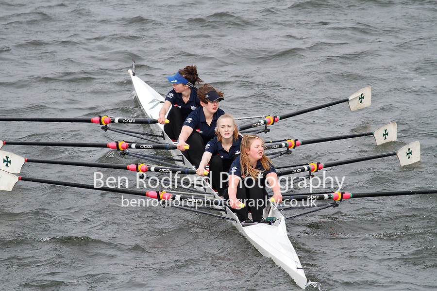 Crew: 285  Durham Sch  Event: Girls J16 Quads<br /> <br /> Schools' Head of the River 2017<br /> <br /> To purchase this photo, or to see pricing information for Prints and Downloads, click the blue 'Add to Cart' button at the top-right of the page.