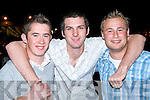 LAUNE RANGERS: Having a great time at Laune Rangers Night at the Dogs at the Kingdom Greyhound Stadium on Saturday l-r: Patrick O'Shea, Eamonn Carey and Brendan O'Shea from Killorglin.   Copyright Kerry's Eye 2008