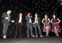 Photo: Richard Lane/Richard Lane Photography. .Serge Betsen Testimonial Dinner at the Hilton on Park Lane. 25/02/2011. French players Q & A.