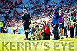 David Clifford Kerry is injured against  Derry in the All-Ireland Minor Footballl Final in Croke Park on Sunday.