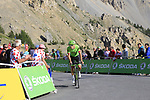 Alberto Bettiol (ITA) Cannondale Drapac climbs Col d'Izoard during Stage 18 of the 104th edition of the Tour de France 2017, running 179.5km from Briancon to the summit of Col d'Izoard, France. 20th July 2017.<br /> Picture: Eoin Clarke | Cyclefile<br /> <br /> All photos usage must carry mandatory copyright credit (&copy; Cyclefile | Eoin Clarke)