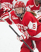 Sarah Lefort (BU - 9) - The Harvard University Crimson defeated the visiting Boston University Terriers 3-1 on Friday, November 22, 2013, at Bright-Landry Hockey Center in Cambridge, Massachusetts.