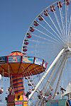 Ferris Wheel at Navy Pier Park on Navy Pier, Chicago, IL, USA