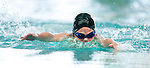 Country Club's Charlie Koelliker competes in the 25 yard fly race during the 53rd annual Country Club Swimming Championships on Tuesday, Aug. 7, 2012, in Kearns, Utah. (© 2012 Douglas C. Pizac)
