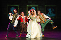 Redhill, UK. 01.02.2013. Birmingham Stage Company presents Horrible Histories - Vile Victorians. Picture shows: Christopher Gunter, Tessa Vale, Amanda Wright and Ashley Bowden. Photo credit: Jane Hobson.