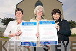 Residents in Castlegregory are launching a silver circle parish draw to run throughout the summer to help raise funds for the restoration of the two parish churches in Castlegregory and Cloghane..Parish Secretary Bernie Dowling,  Chairperson of Castlegregory Parish Council Shelia Kelliher and Patricia Hennessy.