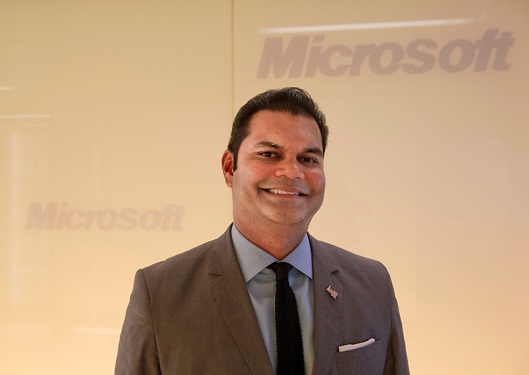 WASHINGTON, DC - July 21: Suhail Khan is the new Director of External Affairs in Microsoft's Washington D.C. office. (Photo by Scott J. Ferrell/Congressional Quarterly)