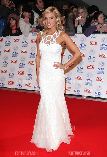 Ashley Roberts arriving for the National Television Awards 2013, at the O2 Arena, London. 23/01/2013 Picture by: Alexandra Glen / Featureflash