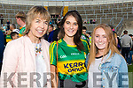 Kerry Fans at the Kerry v Kildare championship clash on Saturday evening at Fitzgerald stadium, from left: Eileen Barry, Laura Daly and Sadhbh Keating (Tralee).