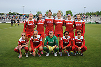 Boyds, MD - Saturday May 6, 2017: Washington Spirit  starting 11   during a regular season National Women's Soccer League (NWSL) match between the Washington Spirit and Sky Blue FC at Maureen Hendricks Field, Maryland SoccerPlex.