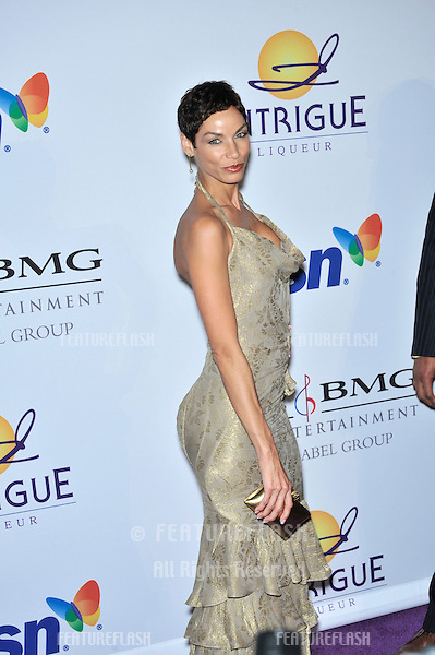 Nicole Murphy at music mogul Clive Davis' annual pre-Grammy party at the Beverly Hilton Hotel..February 9, 2008  Los Angeles, CA.Picture: Paul Smith / Featureflash