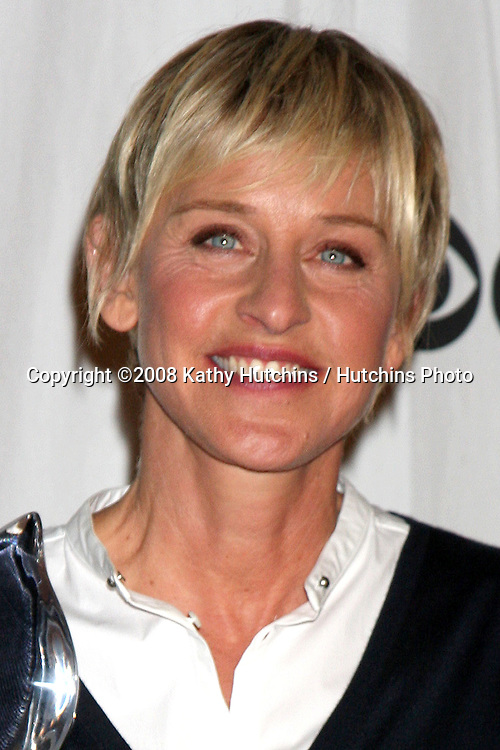 Ellen DeGeneres  in the press room at the People's Choice Awards at the Shrine Auditorium, in Los Angeles, CA on .January 7, 2009.©2008 Kathy Hutchins / Hutchins Photo..                .